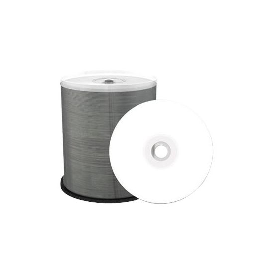 MediaRange Inkjet Fullsurface-Printable - DVD-R x 100 - 4.7 GB - lagringsmedie