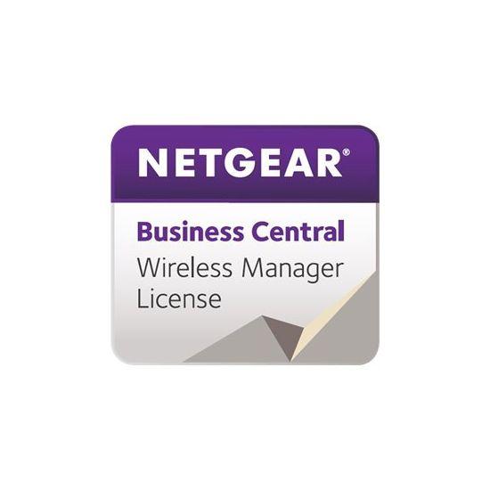 NETGEAR Business Central Wireless Manager - licensabonnemet (3 år) - 50 adgangspunkter