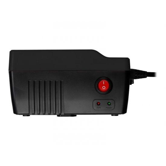 PowerWalker AVR 1000 - automatisk strømregulator - 600 Watt - 1000 VA