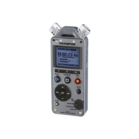 Olympus LS-12 - stemmeoptager - flash-hukommelseskort