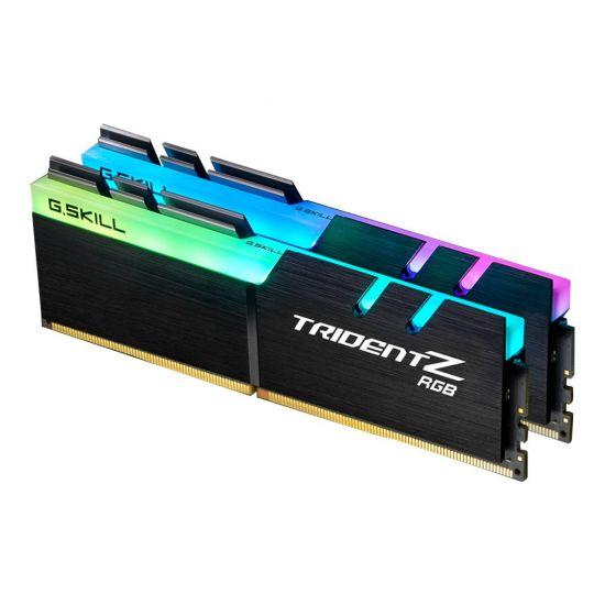 G.Skill TridentZ RGB Series &#45 16GB: 2x8GB &#45 DDR4 &#45 3000MHz &#45 DIMM 288-PIN - CL14