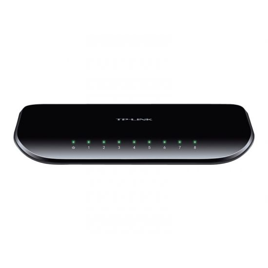 TP-LINK TL-SG1008D 8-Port Gigabit Desktop Switch - switch - 8 porte
