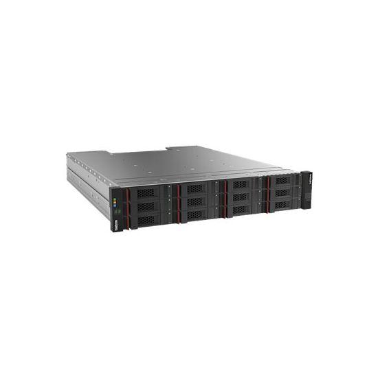 Lenovo ThinkSystem DS2200 LFF FC/iSCSI Dual Controller Unit - harddisk-array