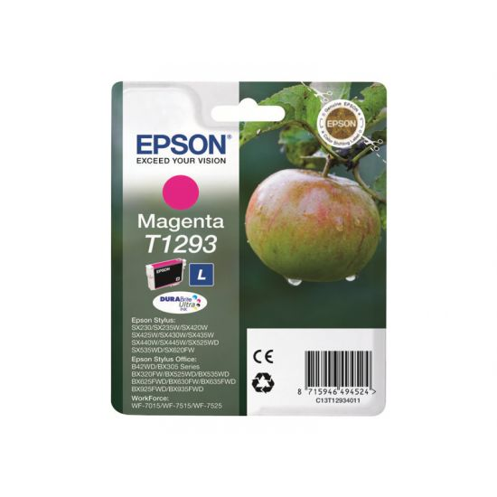 Epson T1293 - magenta - original - blækpatron