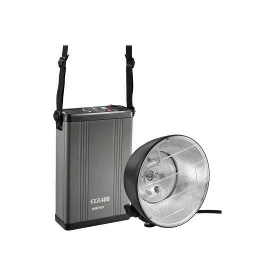 Walimex Pro GXB-400 Portable Flash Set - blitzhoved