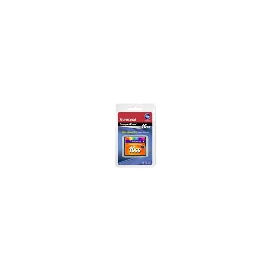 Transcend - flashhukommelseskort - 16 GB - CompactFlash