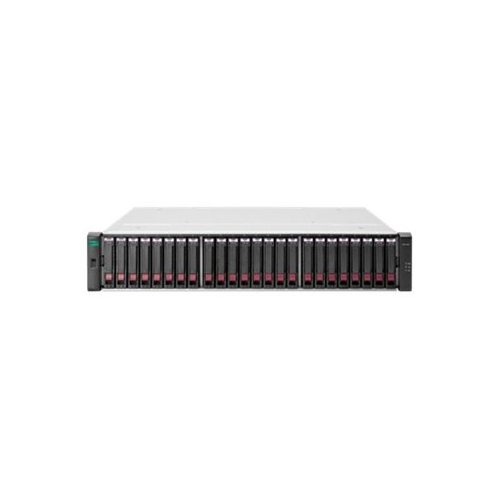 HPE Modular Smart Array 2042 SAN Dual Controller with Mainstream Endurance Solid State Drives SFF Storage - harddisk-array