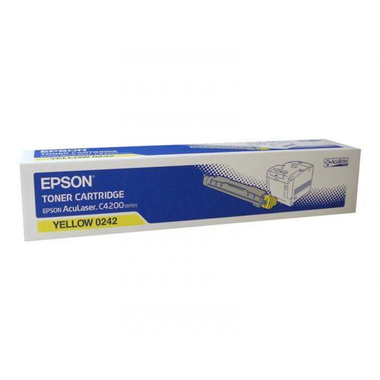 Epson - gul - original - tonerpatron