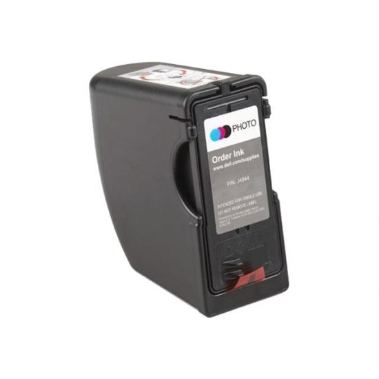Dell - farve (lys cyan, lys magenta, sort) - original - printpatron (foto)