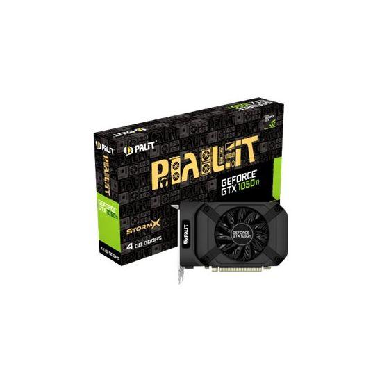 Palit GeForce GTX 1050 Ti StormX &#45 NVIDIA GTX1050Ti &#45 4GB GDDR5 - PCI Express 3.0 x16