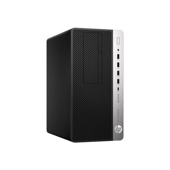 HP EliteDesk 705 G4 - minitower - Ryzen 5 Pro 2400G 3.6 GHz - 8 GB - 256 GB