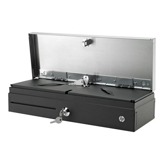 HP Flip Top Till with Locking Cover - Cash Drawer