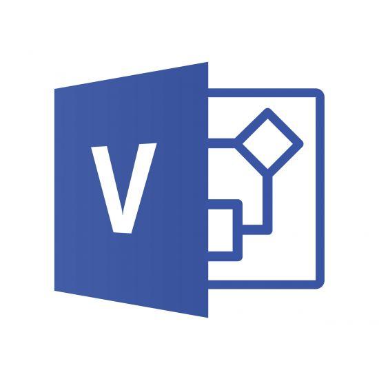 Microsoft Visio Professional 2019 - bokspakke - 1 PC