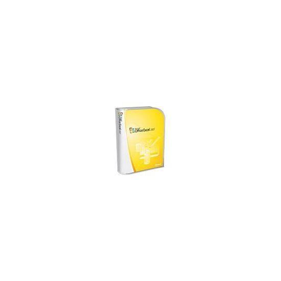 Microsoft Office Excel 2007 - bokspakke - 1 PC