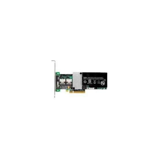 Lenovo ThinkServer RAID 500 Adapter II - styreenhed til lagring (RAID) - SAS - PCIe 2.0 x8