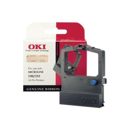 OKI - 1 - sort - print-bånd