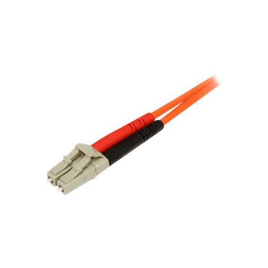 StarTech.com 2m Fiber Optic Cable - Multimode Duplex 62.5/125 LSZH - LC/SC - netværkskabel - 2 m.