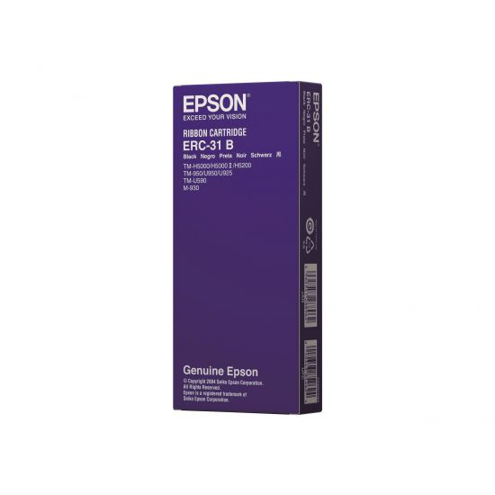 Epson ERC 31B - 1 - sort - print-bånd