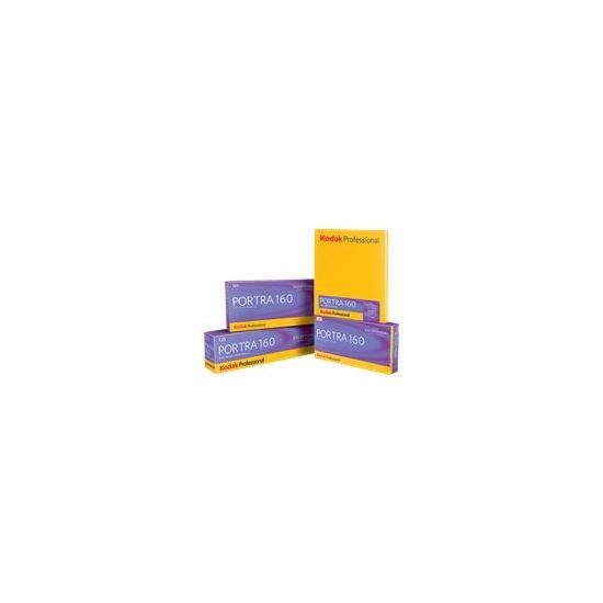 Kodak PROFESSIONAL PORTRA 160 - farvefilm - 120 (6 cm) - ISO 160 - 36 - 5 ruller