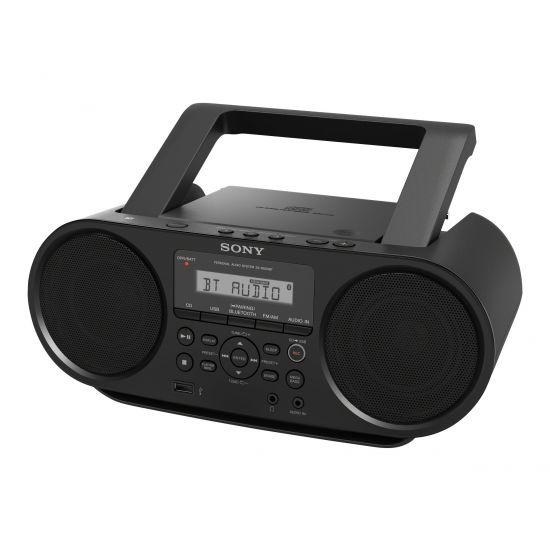 Sony ZS-RS60BT - boombox - CD, USB-vært