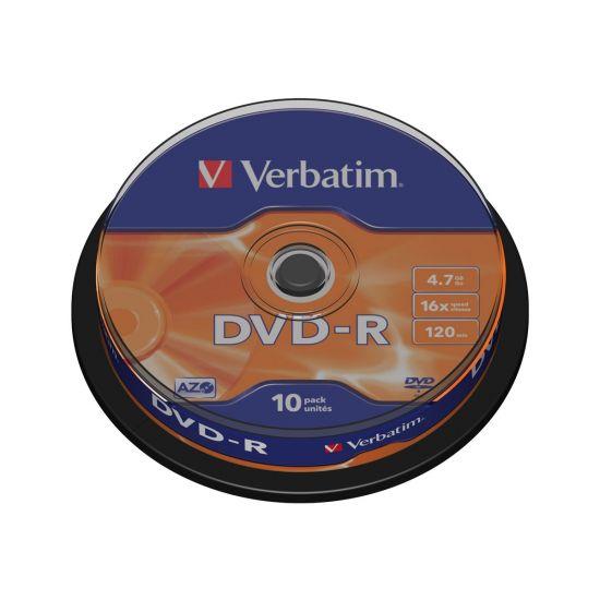 Verbatim - DVD-R x 10 - 4.7 GB - lagringsmedie