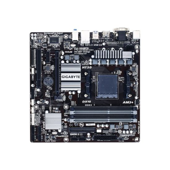 Gigabyte GA-78LMT-USB3 - 5.0 - bundkort - micro-ATX - Socket AM3+ - AMD 760G
