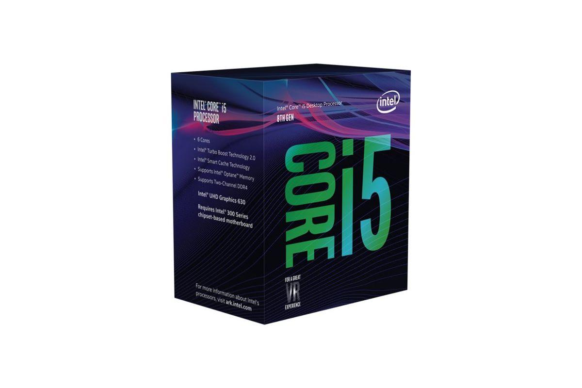 Intel Core i5 8400 / 2.8 GHz Coffee Lake Processor