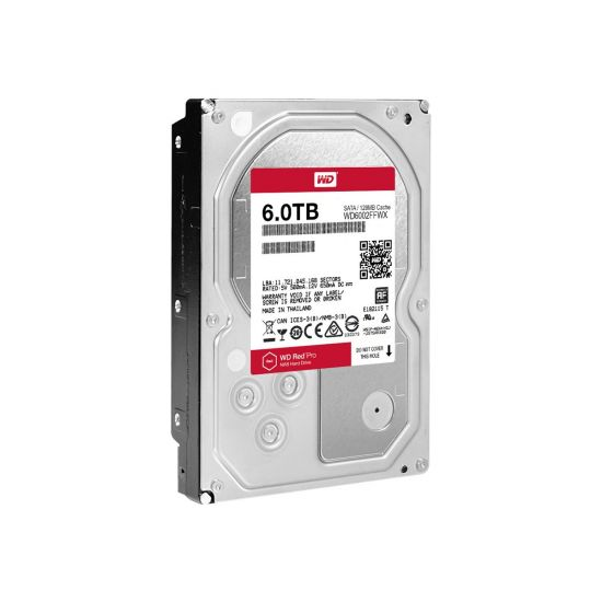 WD Red Pro NAS Hard Drive WD6002FFWX &#45 6TB - SATA 6 Gb/s - 7 pin Serial ATA