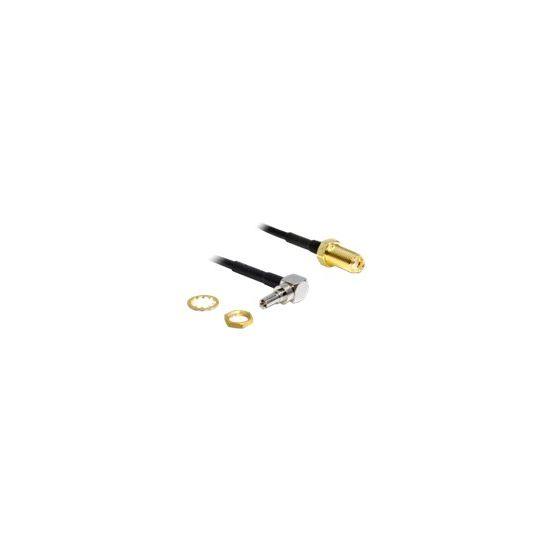 DeLOCK antenneadapter - 20 cm - sort