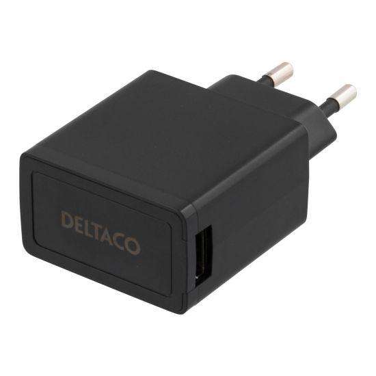 DELTACO USB-AC77 - strømforsyningsadapter
