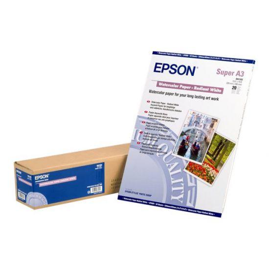Epson - akvarelpapir - 20 ark