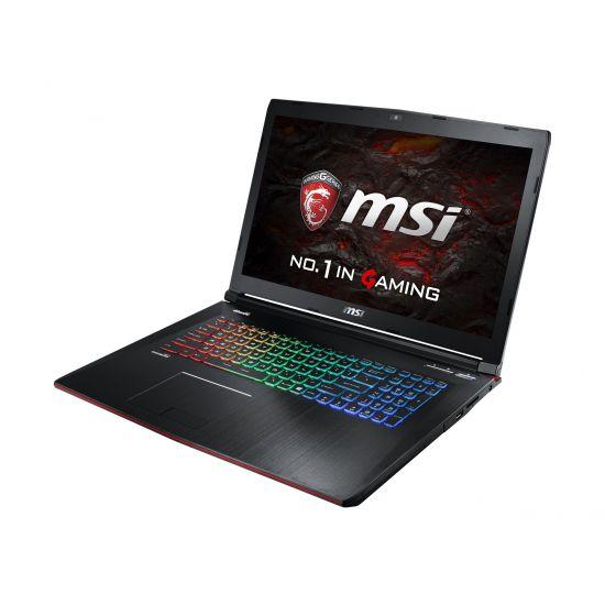 """MSI GE72VR 6RF 093NE Apache Pro - Intel Core i7 (6. Gen) 6700HQ / 2.6 GHz - 16 GB DDR4 - 256 GB SSD - (M.2) + 1 TB HDD / 7200 rpm - NVIDIA GeForce GTX 1060 3GB GDDR5 SDRAM - 17.3"""""""