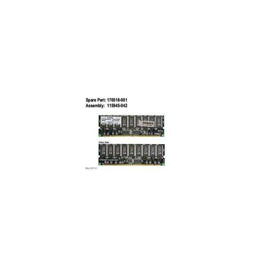 HPE &#45 1GB &#45 SDRAM &#45 100MHz &#45 DIMM 168-PIN - ECC - CL2