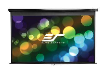 Elite Screens Manual Series M100XWH
