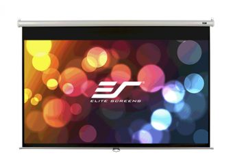 Elite Screens Manual Series M100XWH