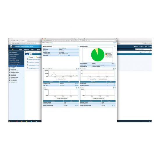 HPE Intelligent Management Center Application Performance Manager - licens - 25 monitore