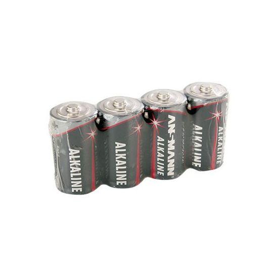 ANSMANN Baby C - batteri - LR14 - Alkalisk x 4