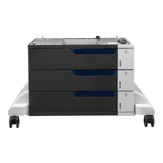HP Paper Feeder and Stand - mediebakke / føder - 500 ark