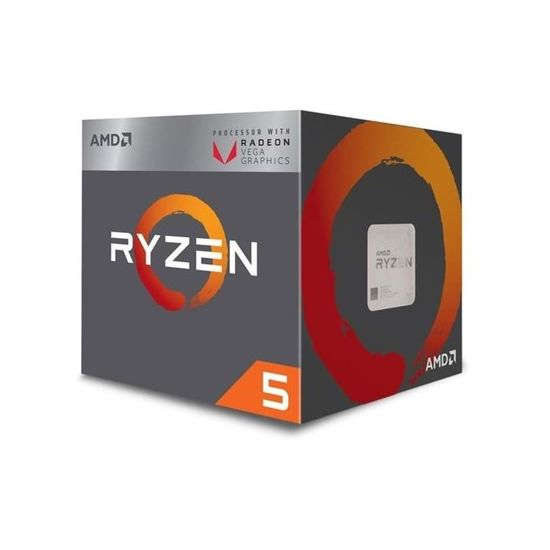 AMD Ryzen 5 2400G / 3.6 GHz Processor