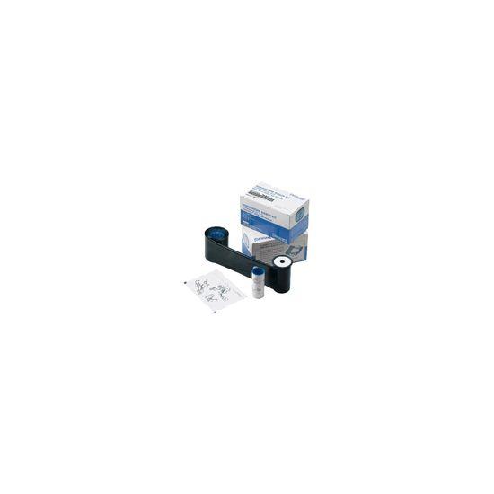 Datacard Monochrome Ribbon - 1 - sort - kassette til print-bånd