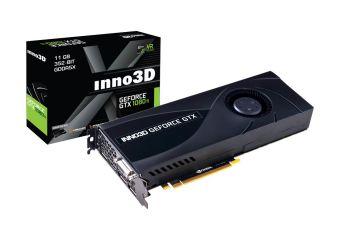 Inno3D GeForce GTX 1080 Ti Jet &#45 NVIDIA GTX1080Ti &#45 11GB GDDR5X