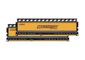 Ballistix Tactical &#45 8GB: 2x4GB &#45 DDR3 &#45 1600MHz &#45 DIMM 240-pin