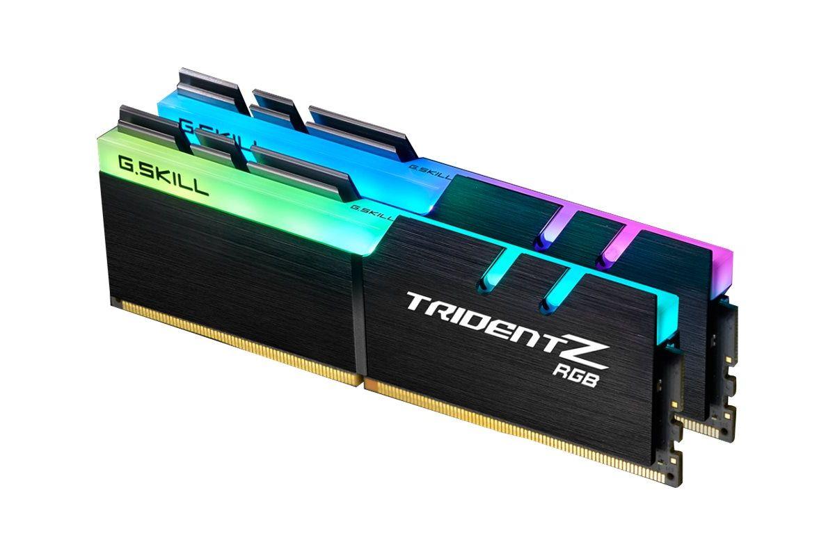 G.Skill TridentZ RGB Series &#45 16GB: 2x8GB &#45 DDR4 &#45 2400MHz &#45 DIMM 288-PIN