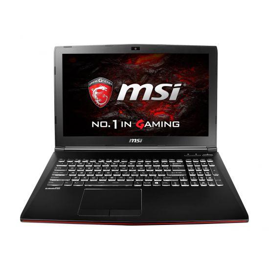 MSI GP62MVR 6RF 232NE Leopard Pro - 8GB Core i7 GTX1060 3GB 128GB SSD + 1TB HDD 15.6´´ Full HD Gamer bærbar
