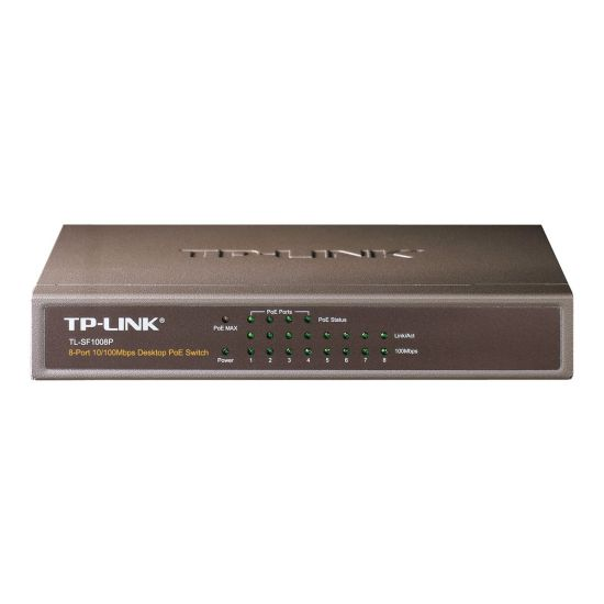 TP-LINK TL-SF1008P - switch - 8 porte