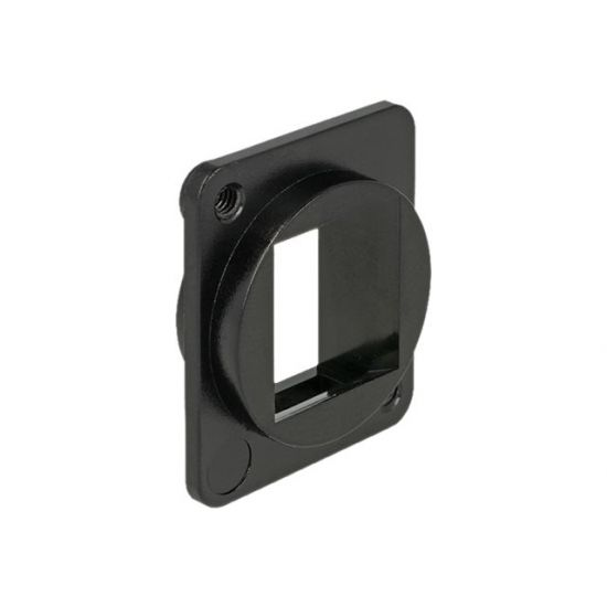 DeLOCK Keystone Mounting 1 Port for D-type - stikkontakt