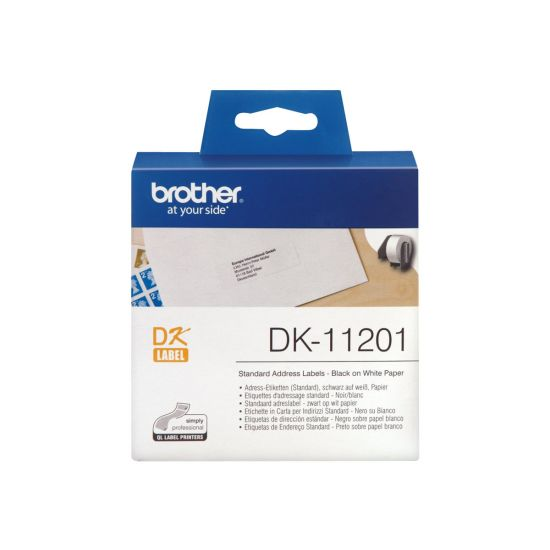 Brother DK-11201 - adresseetiketter - 400 etikette(r)