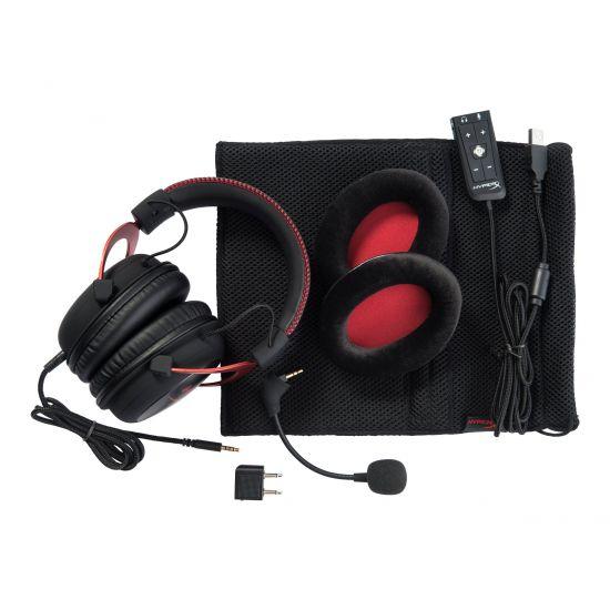 Kingston HyperX Cloud II Gaming Headset - Sort/Rød