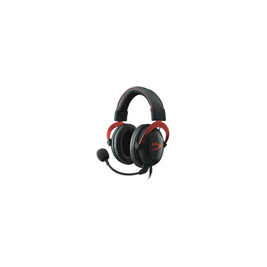 Kingston HyperX Cloud II Gaming Headset - Sort/Rød