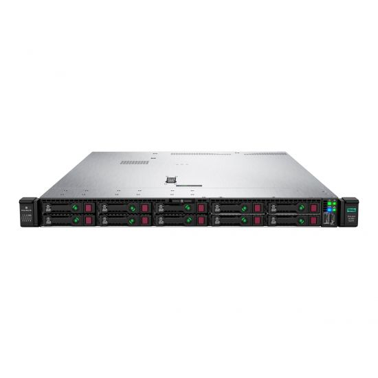 HPE ProLiant DL360 Gen10 Low - rack-monterbar - Xeon Bronze 3104 1.7 GHz - 8 GB - 0 GB